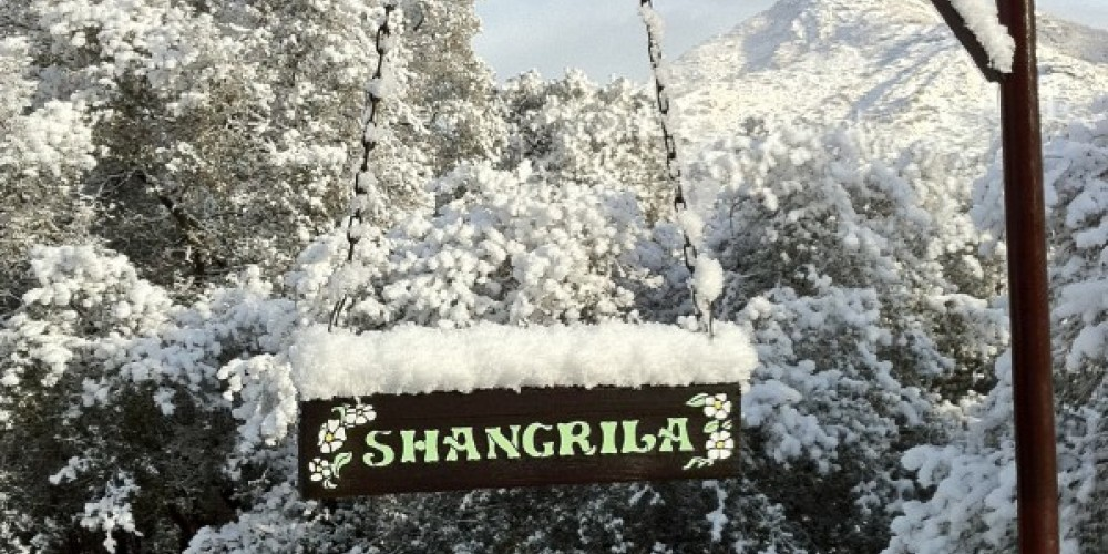 End of the Road... Entrance to Shangrila – J. Seligman