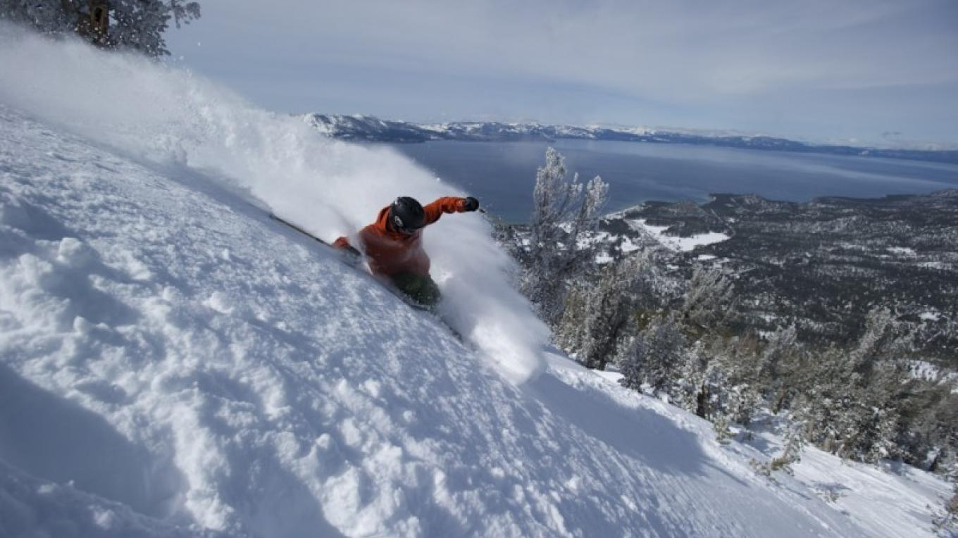 Another amazing day at Heavenly. – Corey Rich