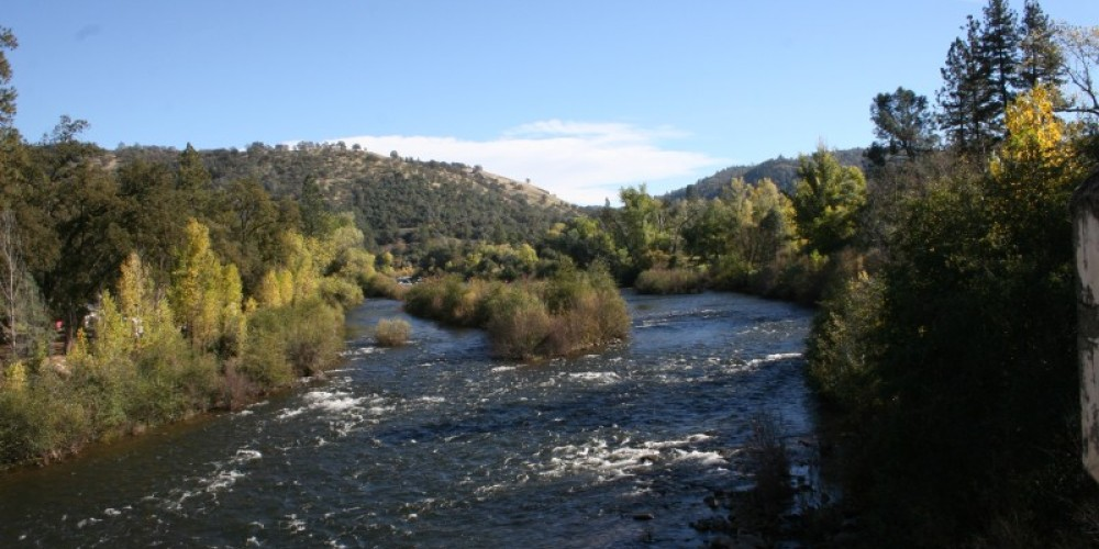 South Fork of the American River where gold was found January 24, 1848 – Bonnie Duffy Wurm