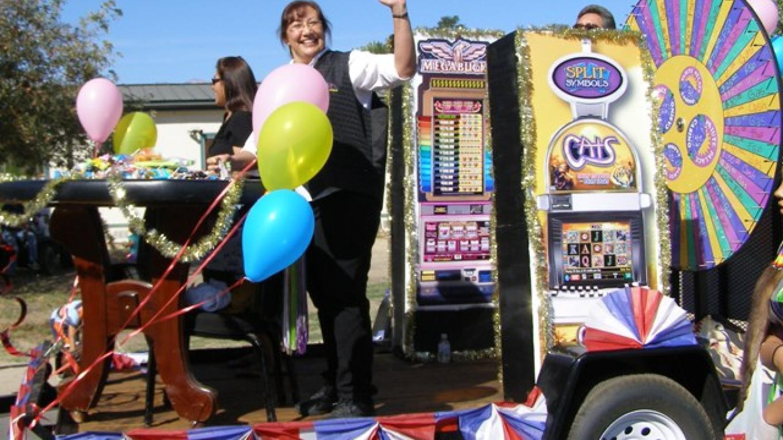Indian Days Parade - Paiute Palace Casino Float – Staff