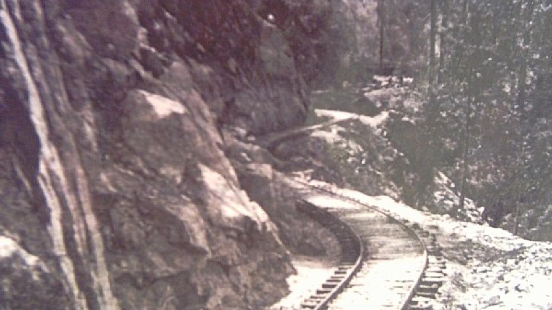 High Bluff near the West Portal