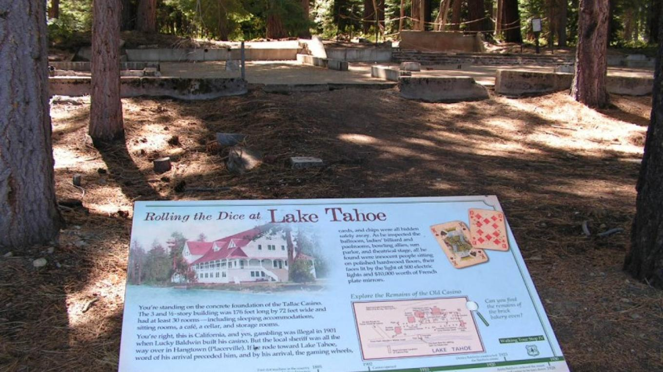 Remains of Tallac Hotel – Robin Shriver