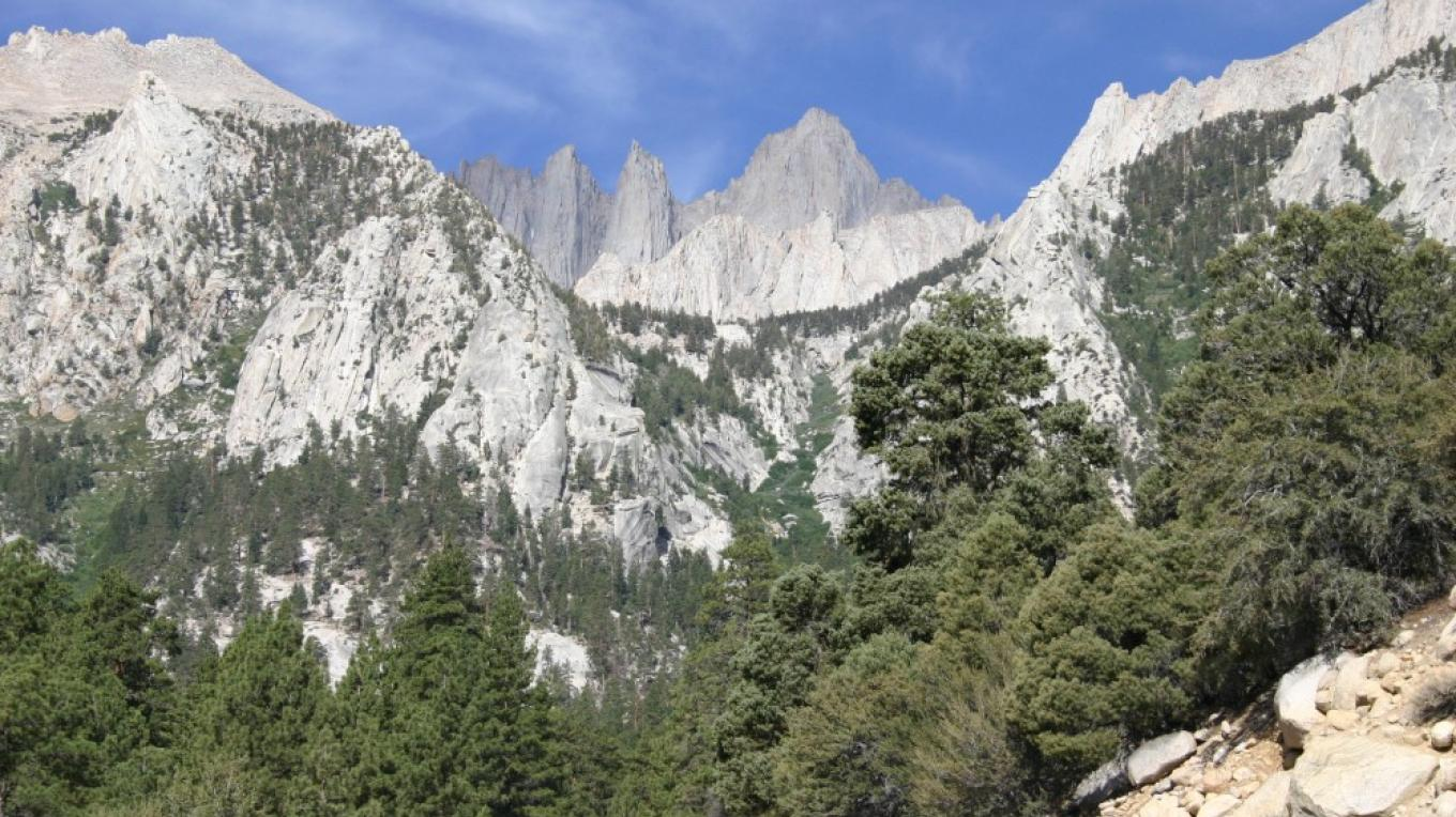 Whitney Portal is the entry way to many back country adventures and for film fans it is a gold mine of film locations. – Langley