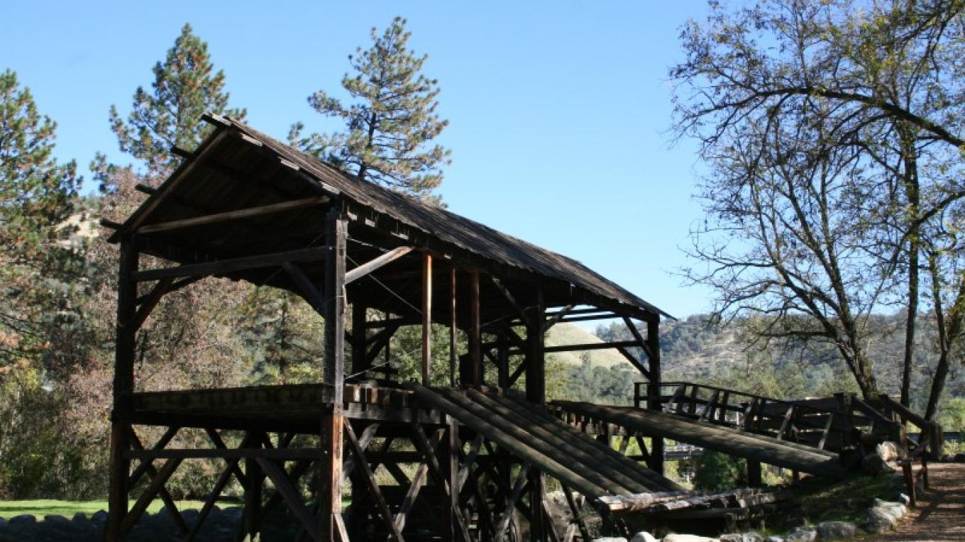 Sutter's Mill replica in the Park – Bonnie Duffy Wurm