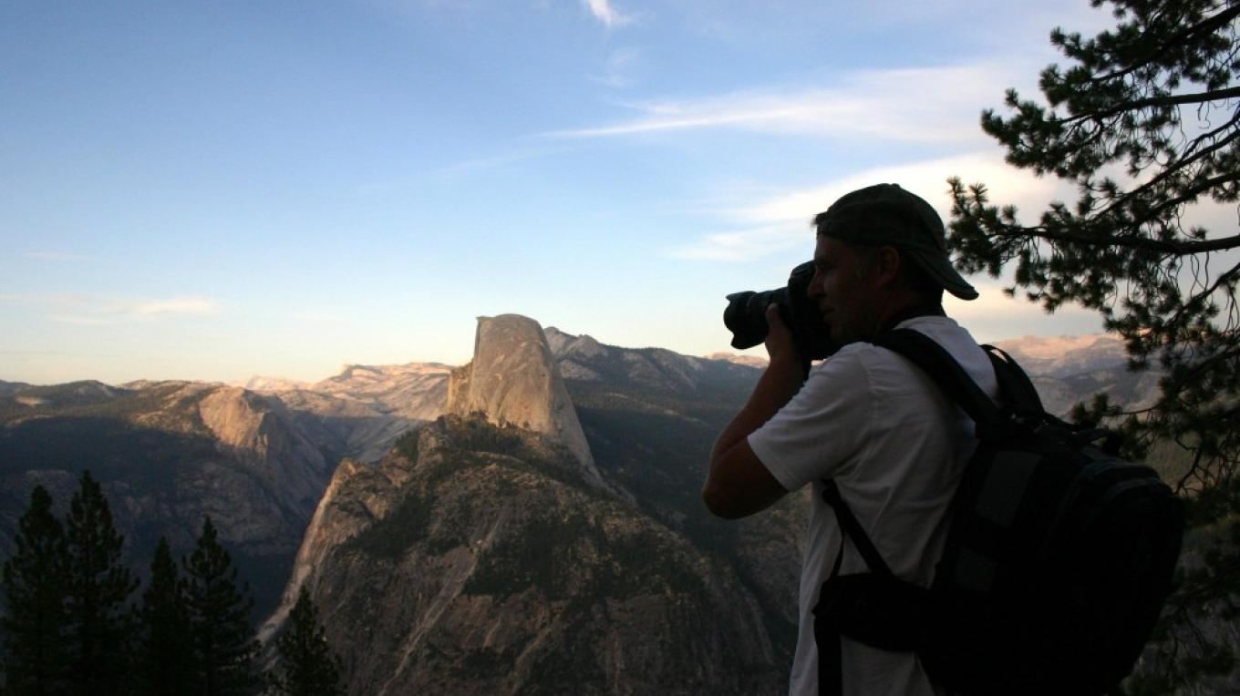 Kerry Brookes from Nottingham, England on Photo Safari at Glacier Poiint – Pat Althizer