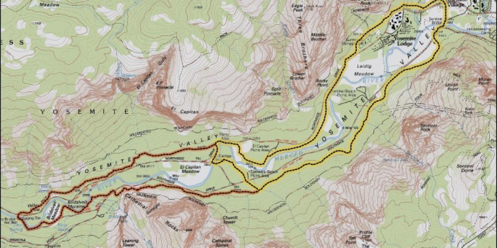 Valley Loop map – nps.gov