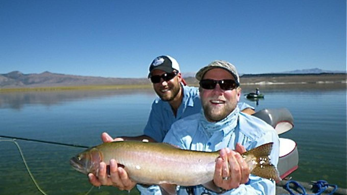 There\'s big trout in Crowley Lake – Dave Neal