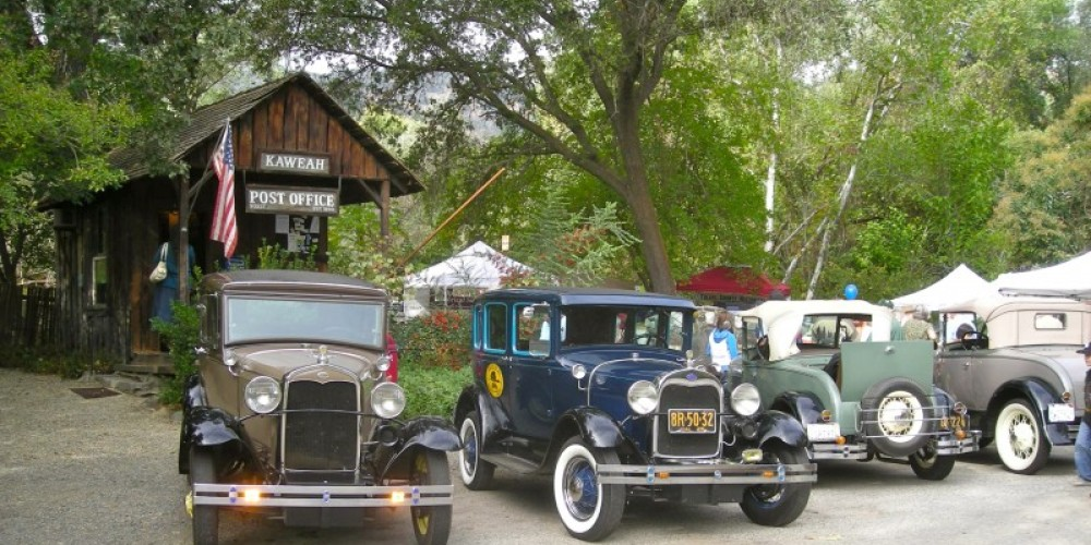 These are the sort of vehicles that originally drove folks up into Sequoia National Park in the 20' and 30's – CJS