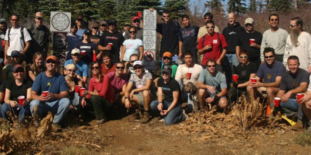 Staff and volunteers – Sierra Buttes Trail Stewardship