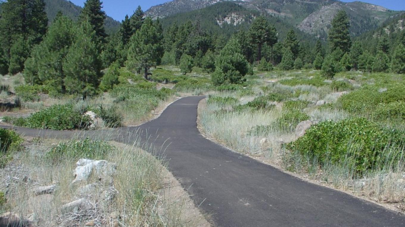 1/2 mile family-friendly, paved, interpretive trail leading from the Visitor Center. – Bob Harmon, Washoe County Regional Parks and Open Space