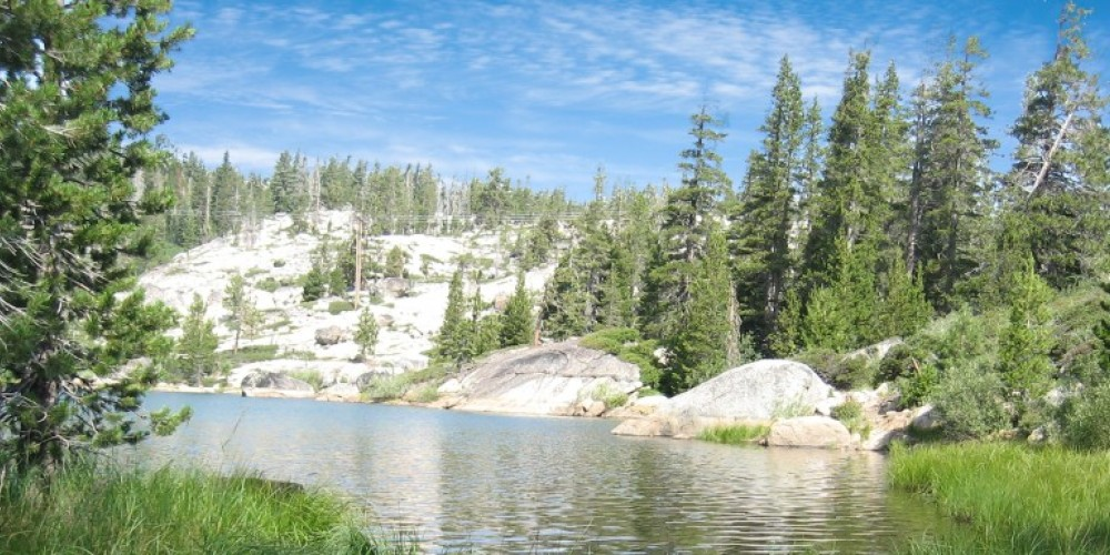 Lake Angela is one of the lakes passed on High Sierra Lake hike. – Truckee Donner Chamber of Commerce