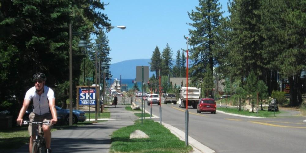 Just a few blocks from Lake Tahoe, CA. – Crystal Ricotta