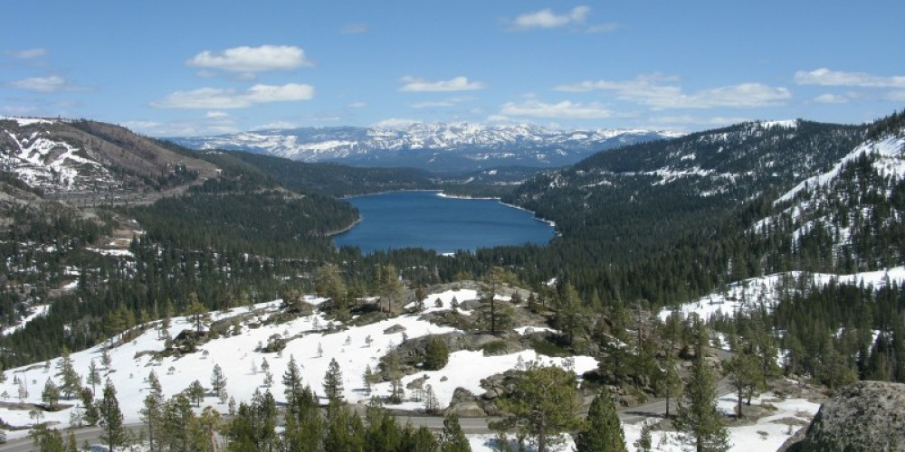 Donner Lake near Truckee, view from historic U.S. 40 – Linda Chaplin