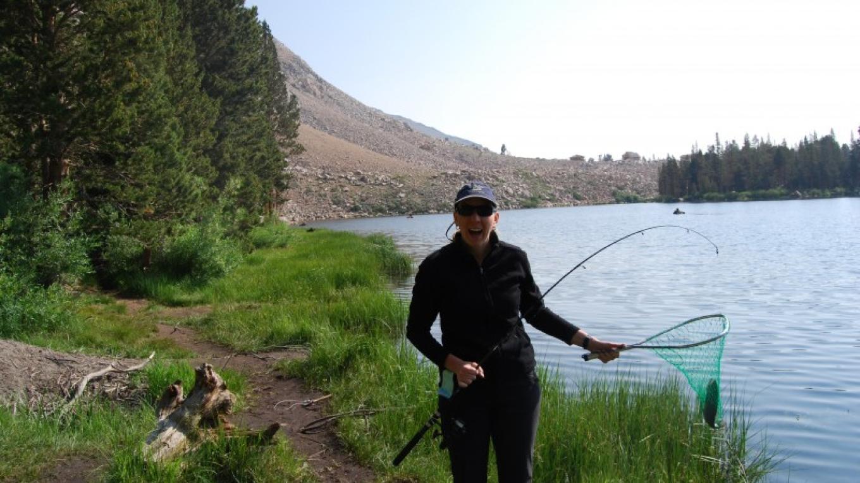 Catching Fish – Sarah McCahill