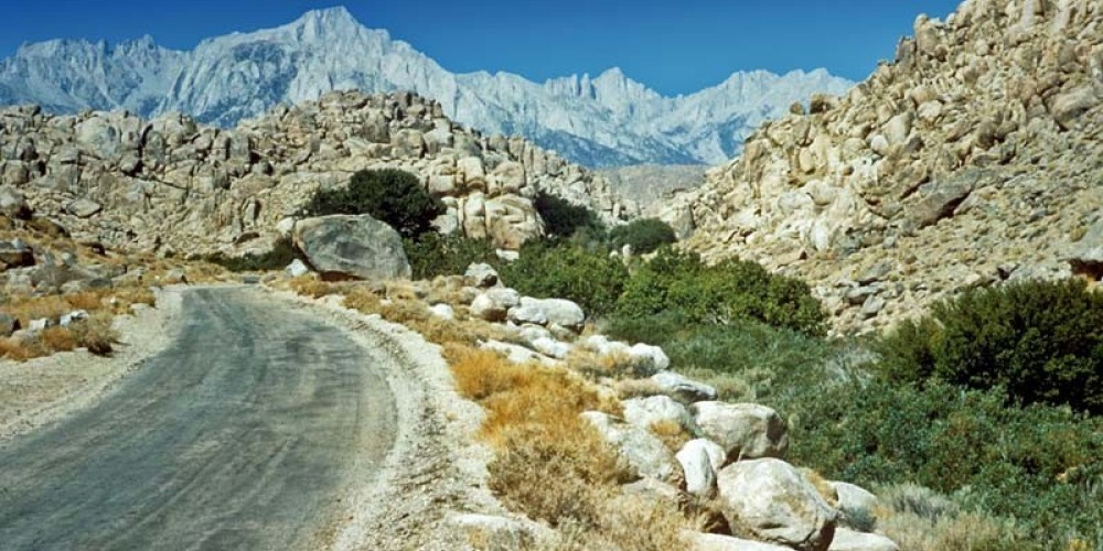 Mt. Whitney Portal Road. – NPS