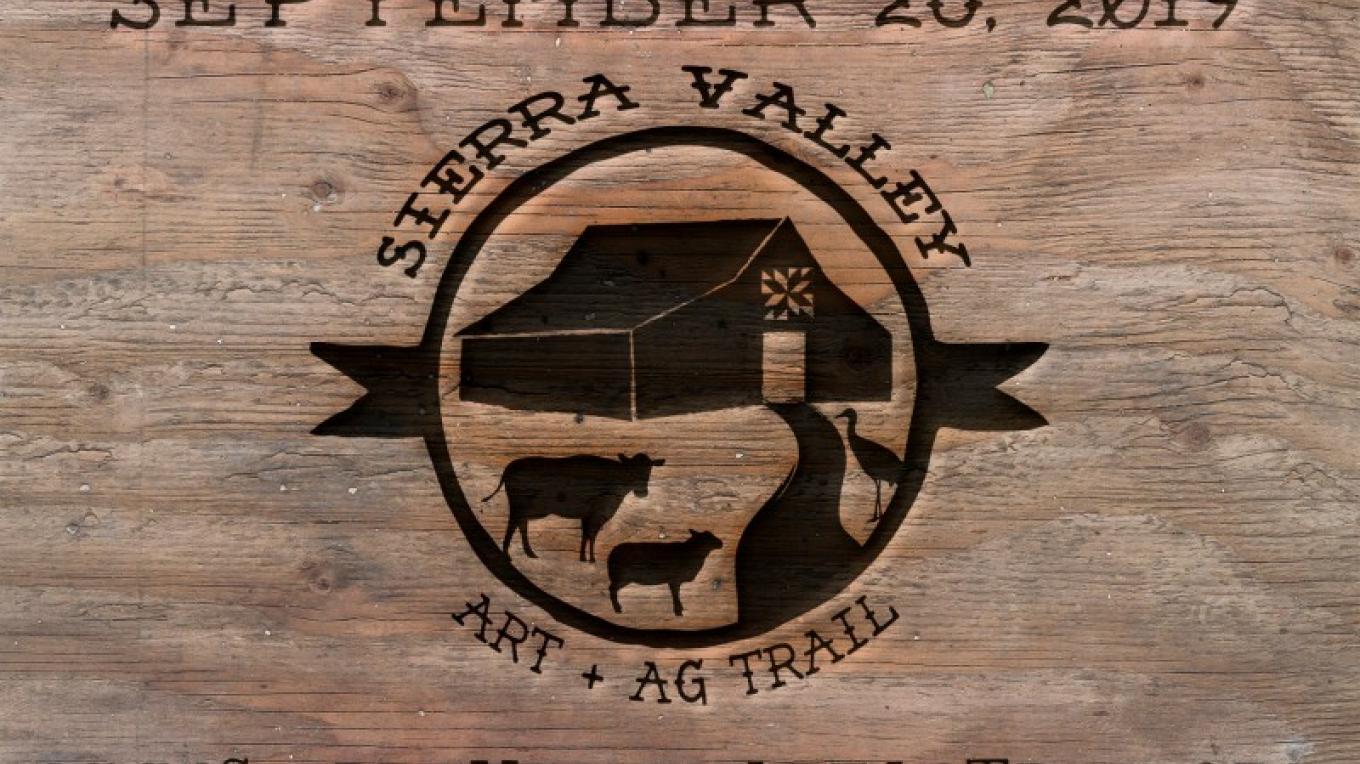 www.SierraValleyArtAgTrail.org -- Historic barns, local artists, real cattlemen and women in a beautiful alpine setting. There is much fun to be had. – - graphic design by Lis Henson