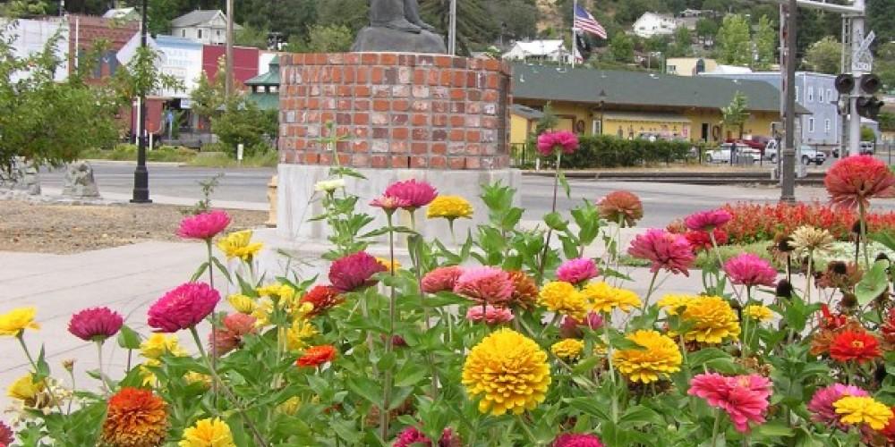 Schuyler Colfax overlooks his namesake village – David Wiltsee