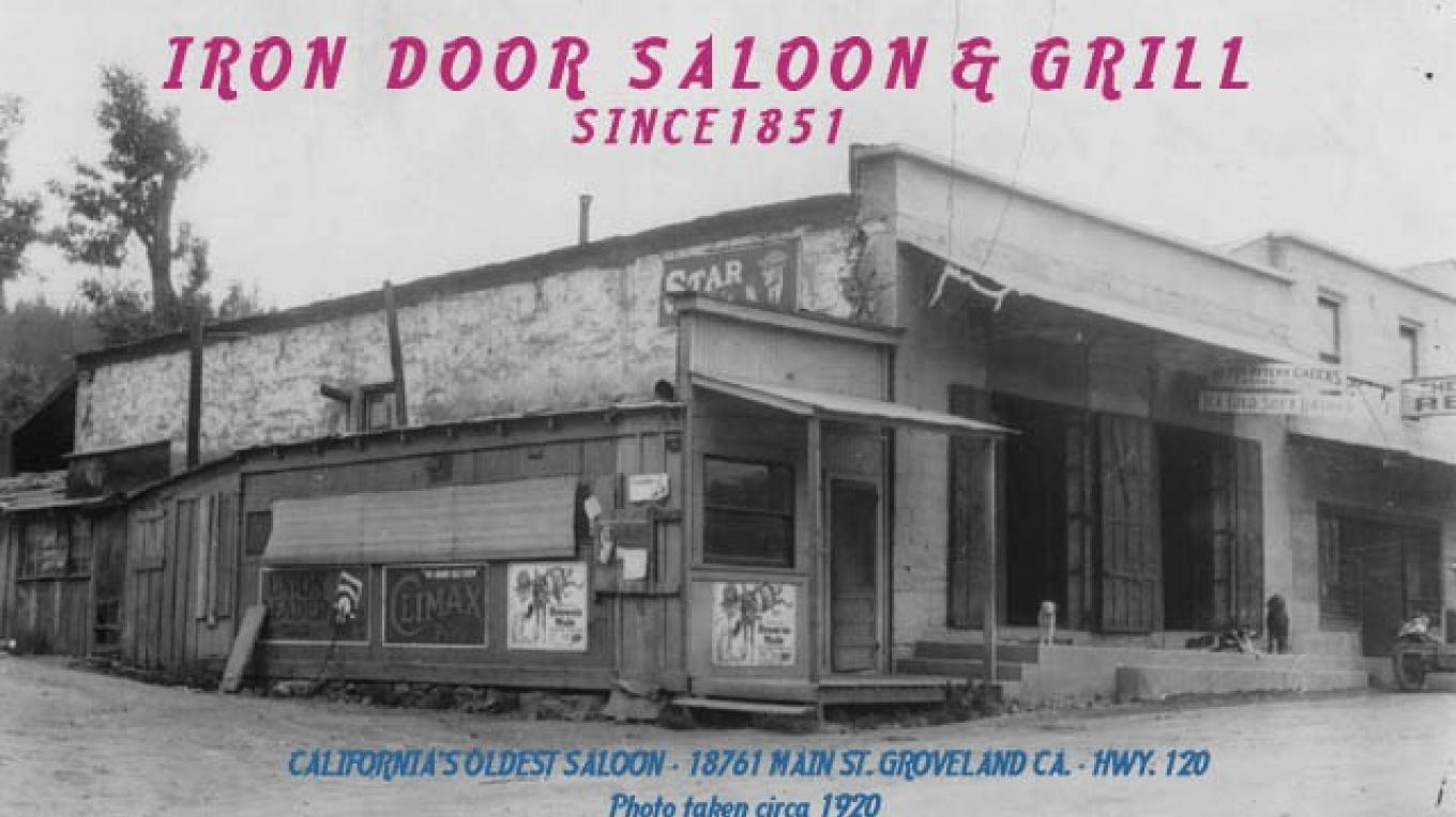 Saloon in 1920