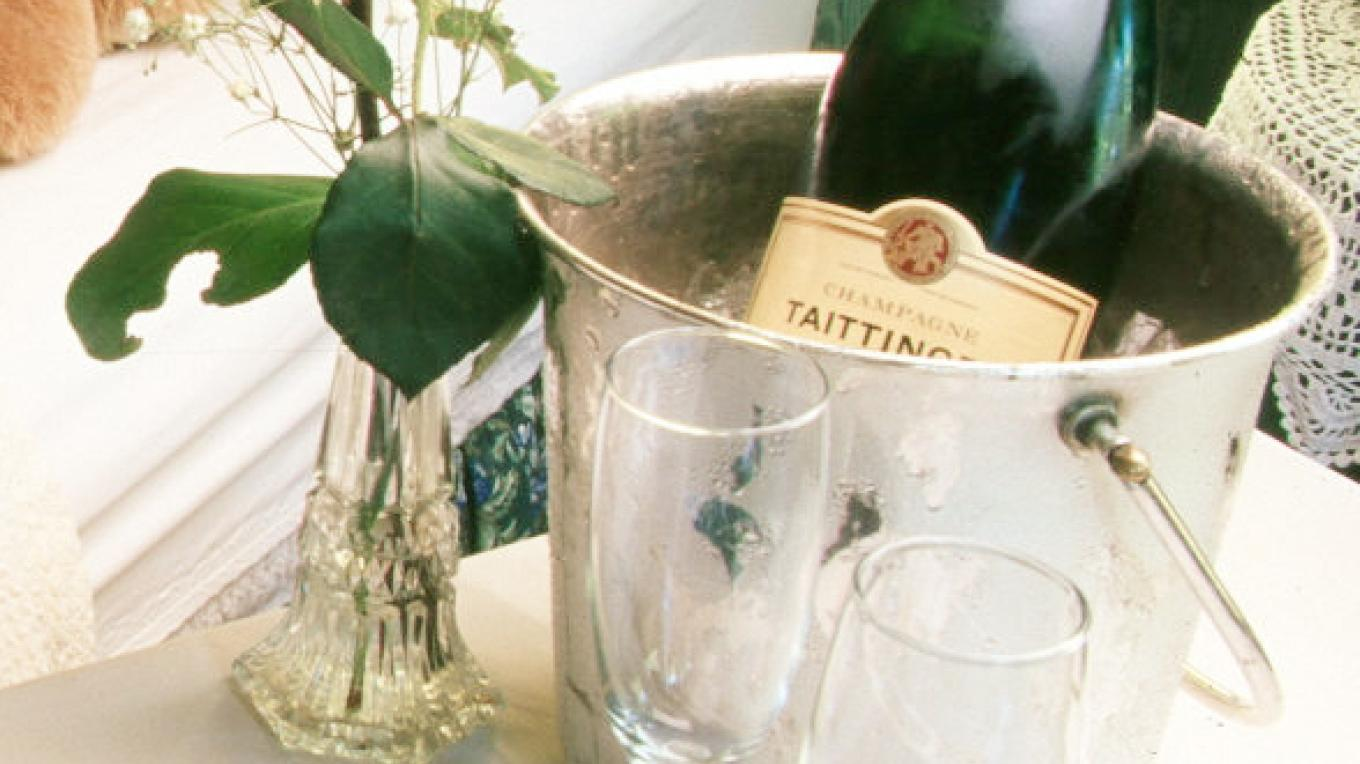 Champagne for that Special Occasion – Peggy Mosley