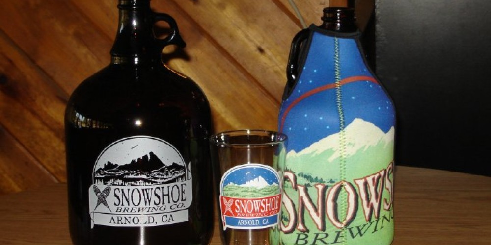 Made in the Sierra Nevada. – Snowshoe Brewing Co