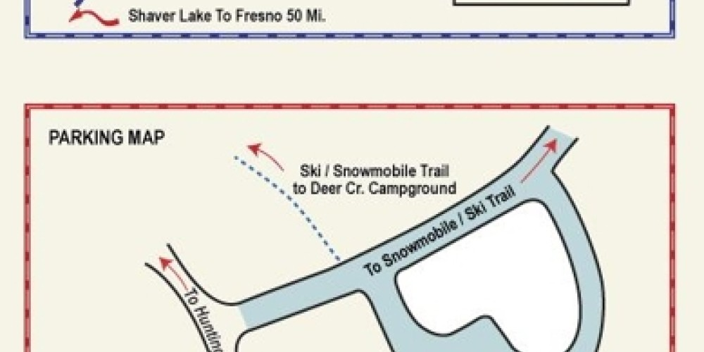Maps of Donner Summit Sno-Park – www.trekaroo.com
