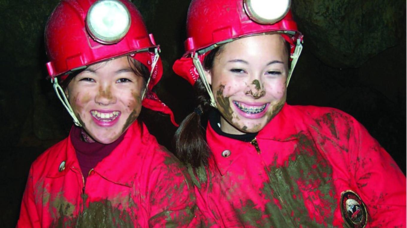 California Cavern\'s Mammoth Cave Expedition gets you very muddy! – California Cavern