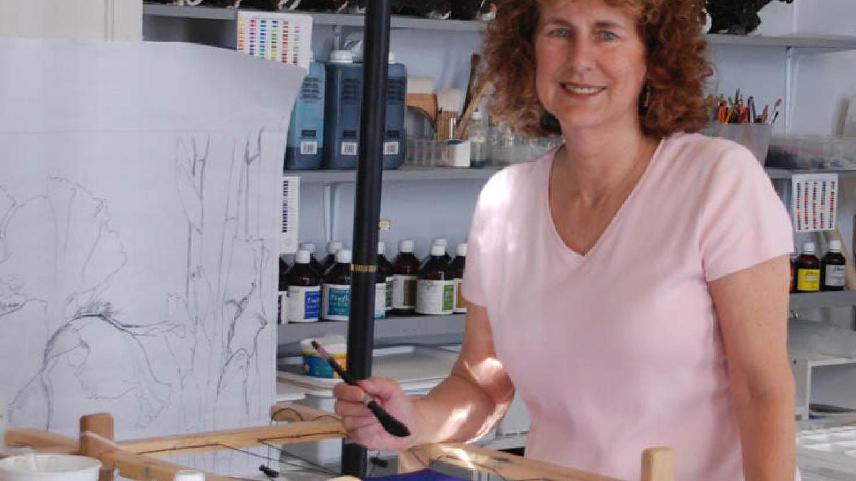 Meridee Smith, batik artist