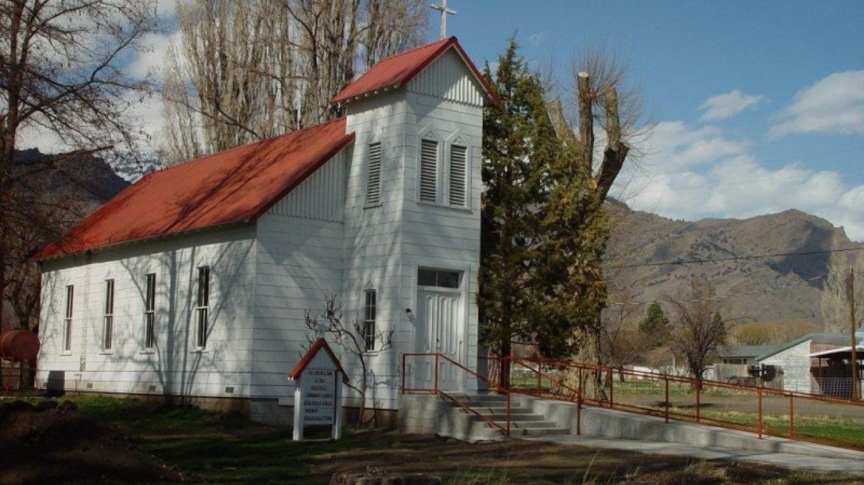 Eagleville Church phase one restoration circa 2002 – Jean Bilodeaux