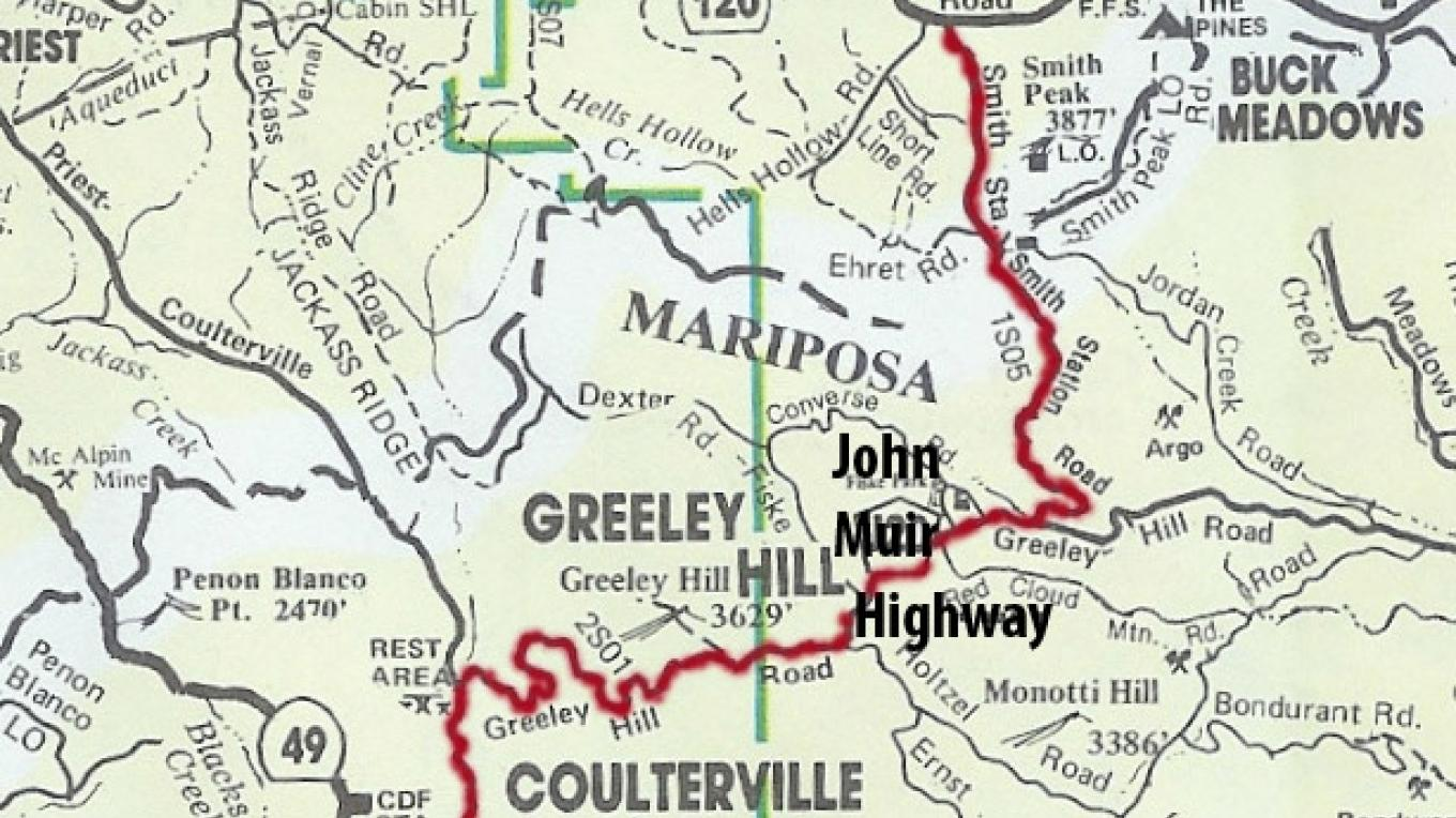 Red Line Track for John Muir Highway – Ken Pulvino