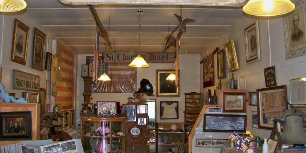 Interior view of the Downieville Museum – Lee Adams