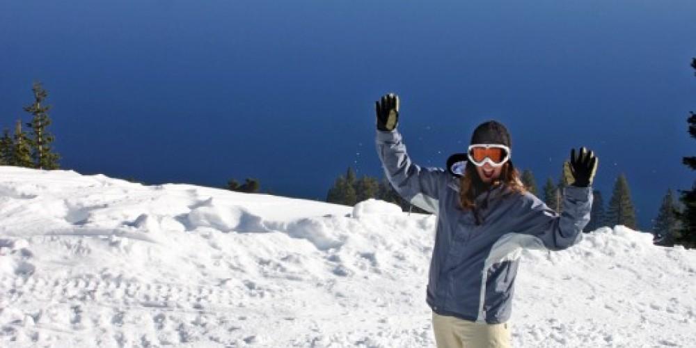 Snowboarding at Lake Tahoe's Homewood Mountain Resort – Rachael Woods