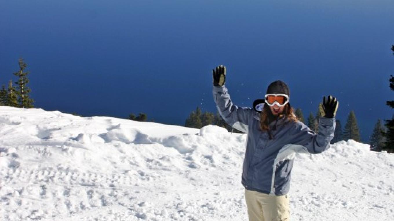 Snowboarding at Lake Tahoe's Homewood Mountain Resort – Rachael Woods