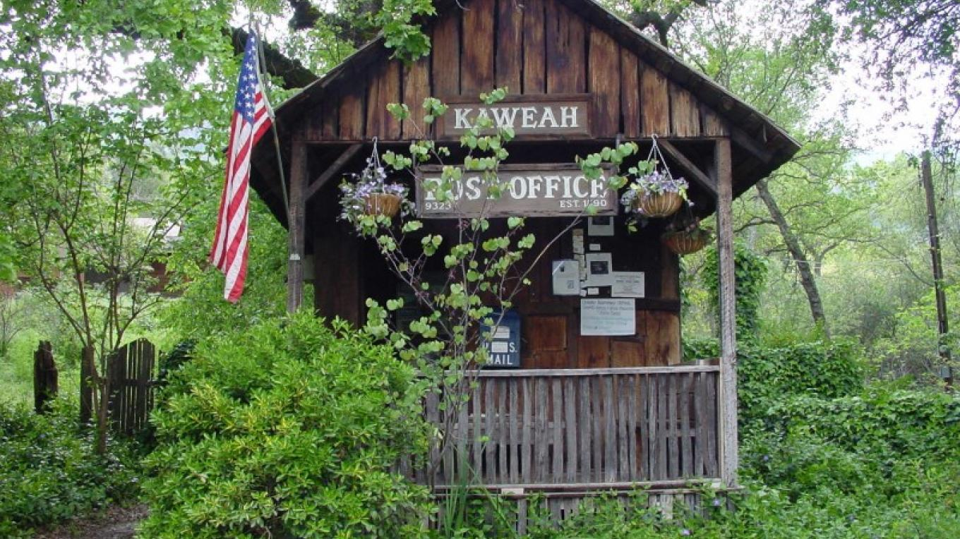 The Kaweah Post Office is one of the smallest operating post offices in the United States. – The Kaweah Commonwealth