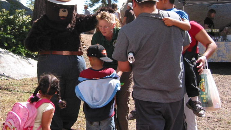 Children adore Smokey – Wendy Garton
