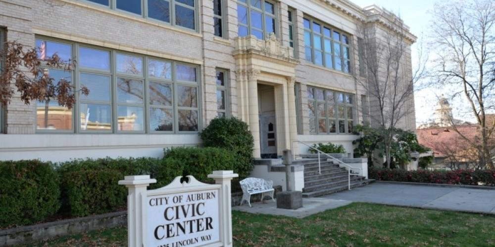 Side view - Auburn Civic Center – Michael Loomis