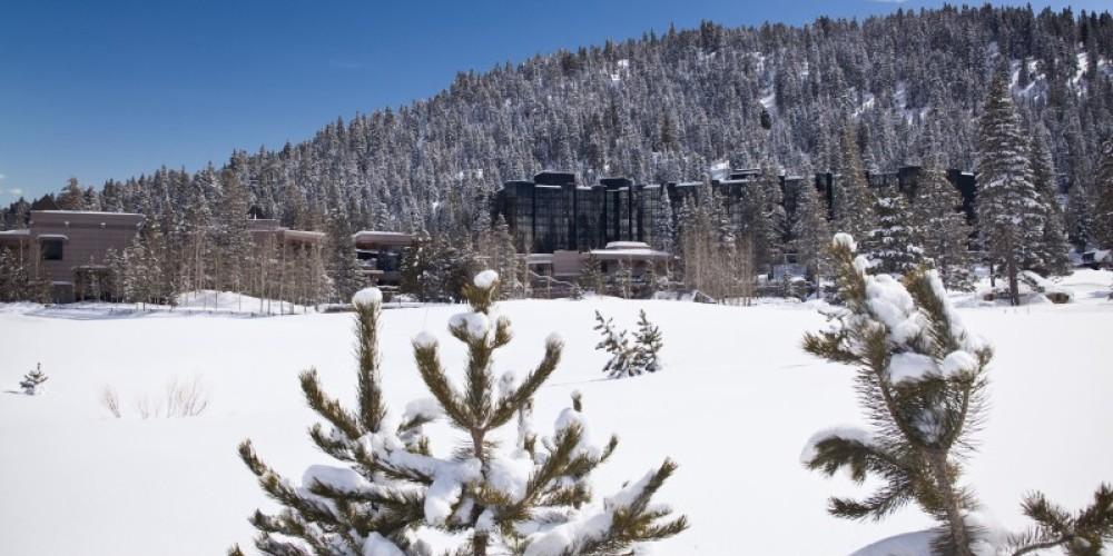 Resort at Squaw Creek in winter. – Tom Zikas