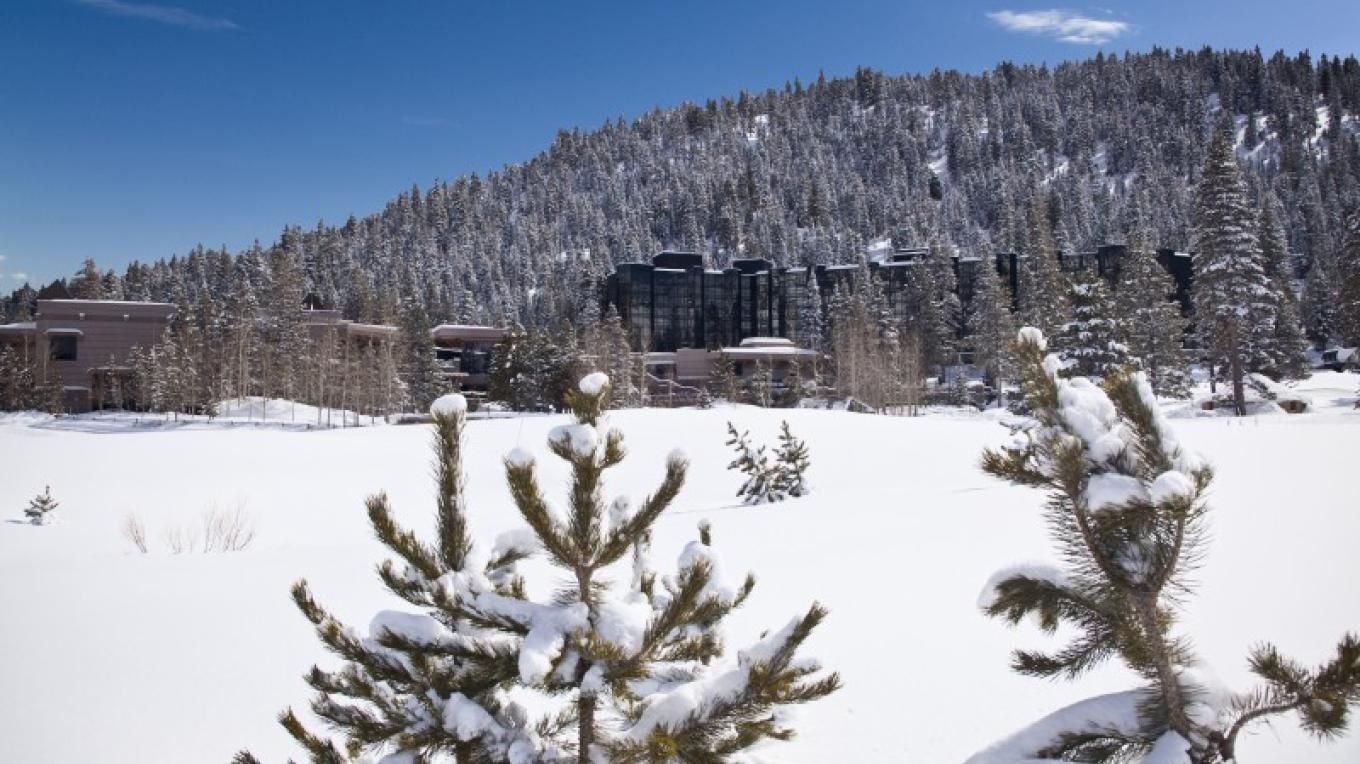 Resort at Squaw Creek in winter. – Tom Zikas