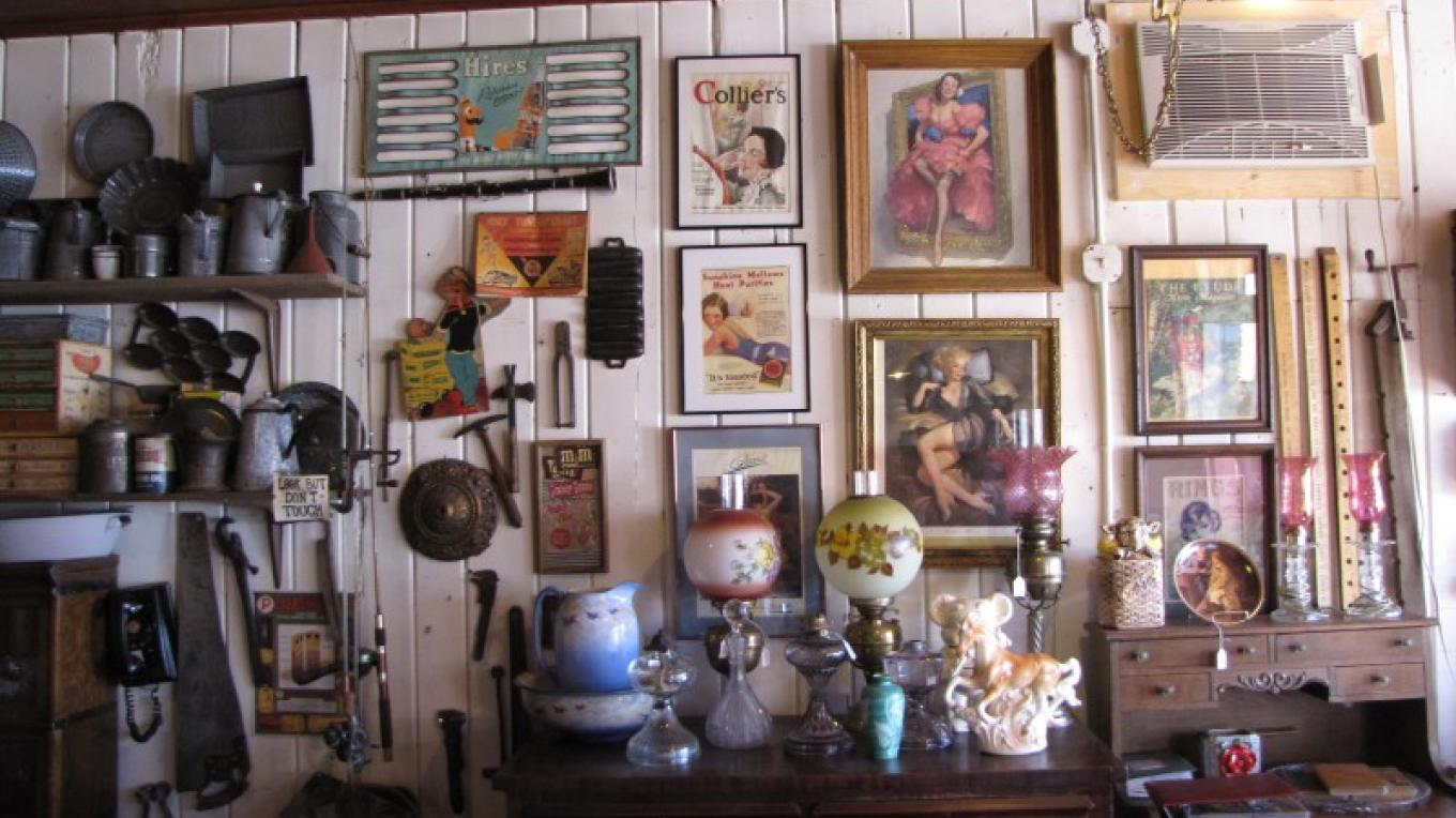 There's a lot of interesting things on the walls at Hal & Kathy's. – Ben Miles