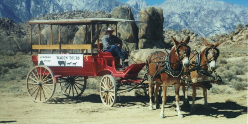 Wagon Rides during the Lone Pine Film Festival