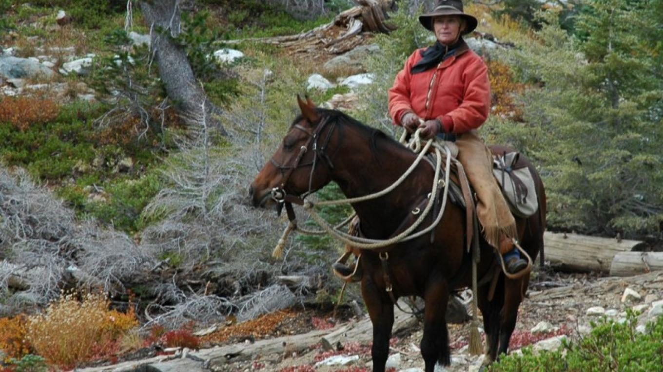 Horseback riding & horse packing are great ways to get around in the Lakes Basin. – Mary Davey