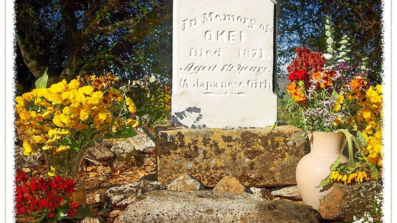 Okei Ito headstone. – John Broski