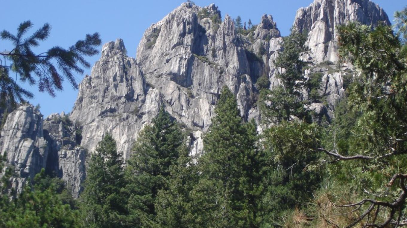 The PCT offers access to the scenic Castle Crags State Park near the northern border of Shasta County. – Ben Miles
