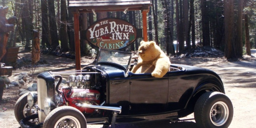 This Deuce is the project of Rick Hertzberg, owner of the Yuba River Inn & one of the two organizers of this event. – Tom Edgman