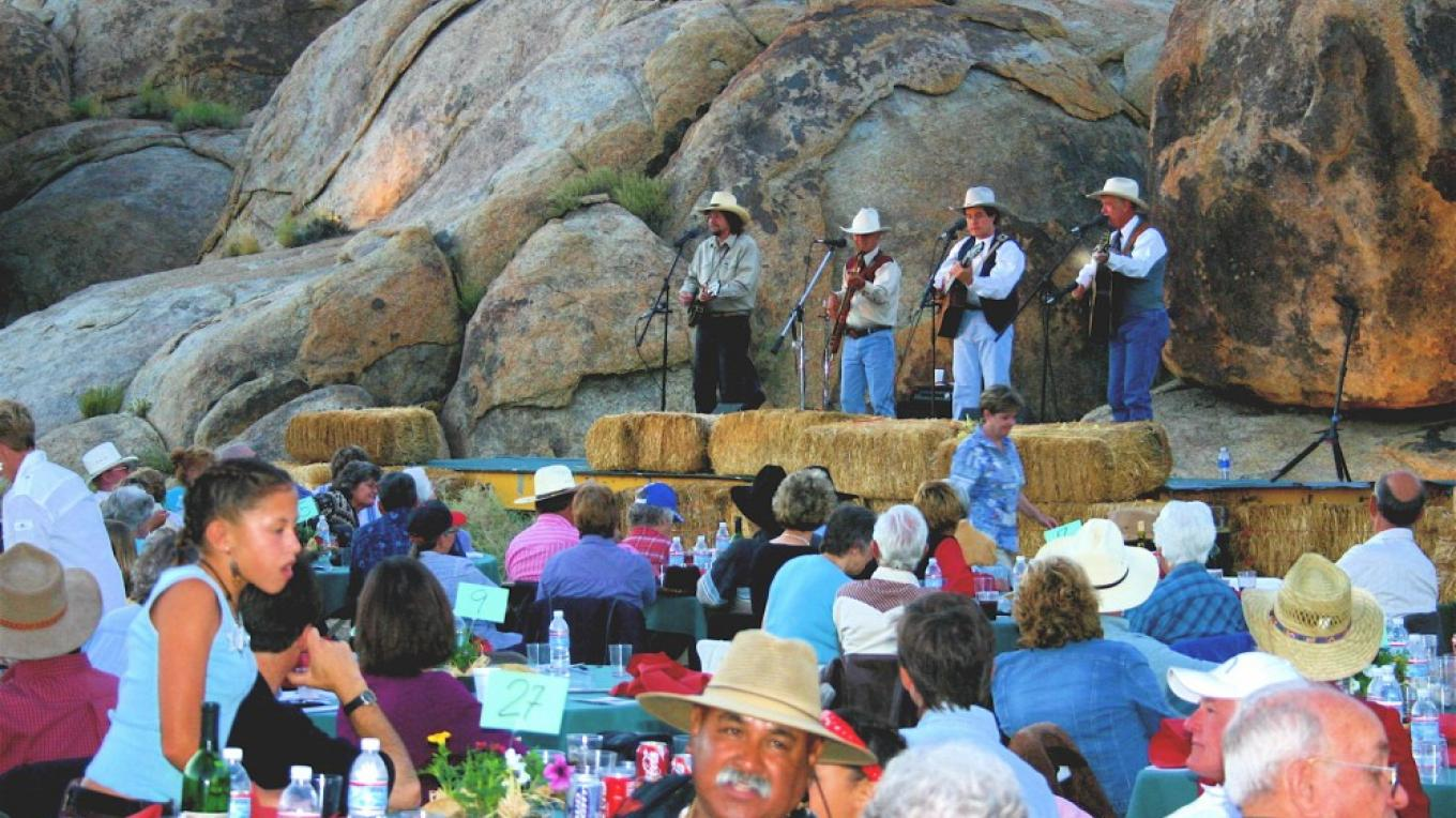Event in the Alabama Hills – Langley