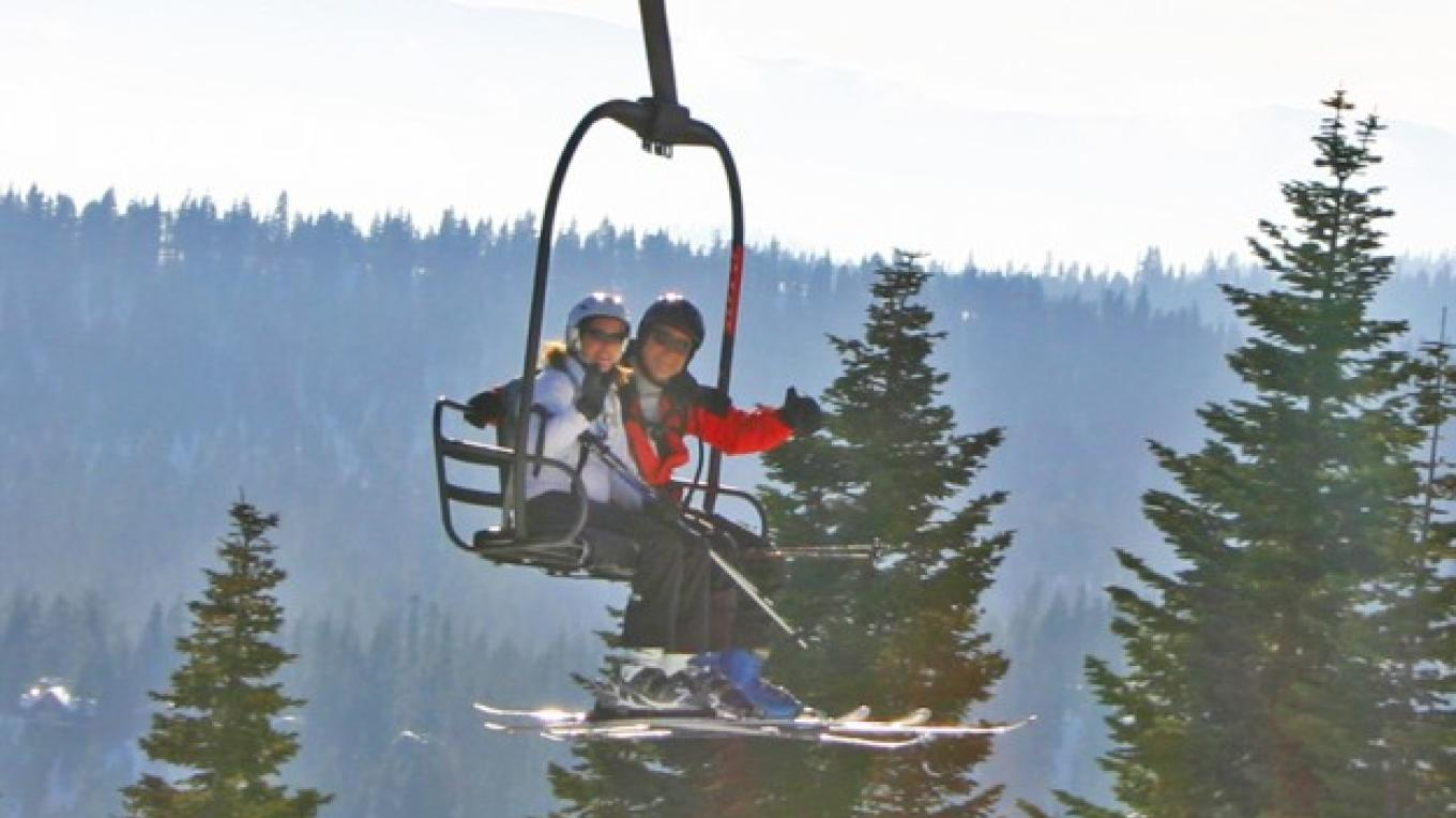 Skiing at Lake Tahoe's Homewood Mountain Resort – Rachael Woods
