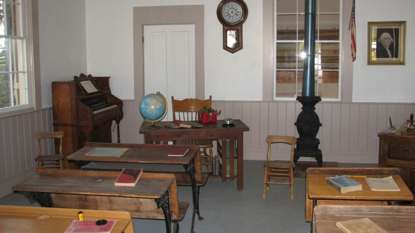 Interior of School – B Rogers