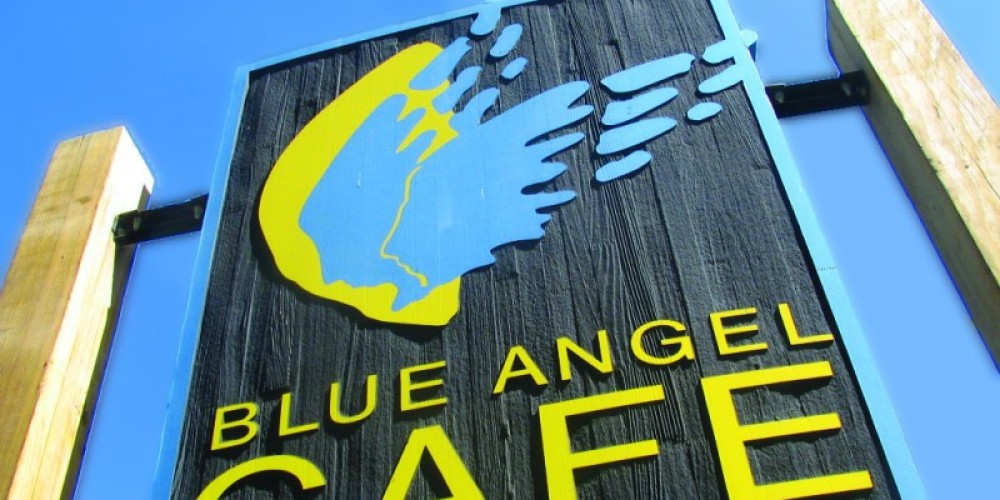 Blue Angel Sign – Crystal Ricotta