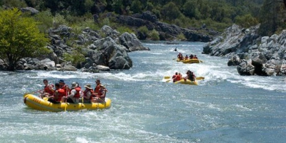 Whitewater Rafting on the South Fork American River – www.oars.com