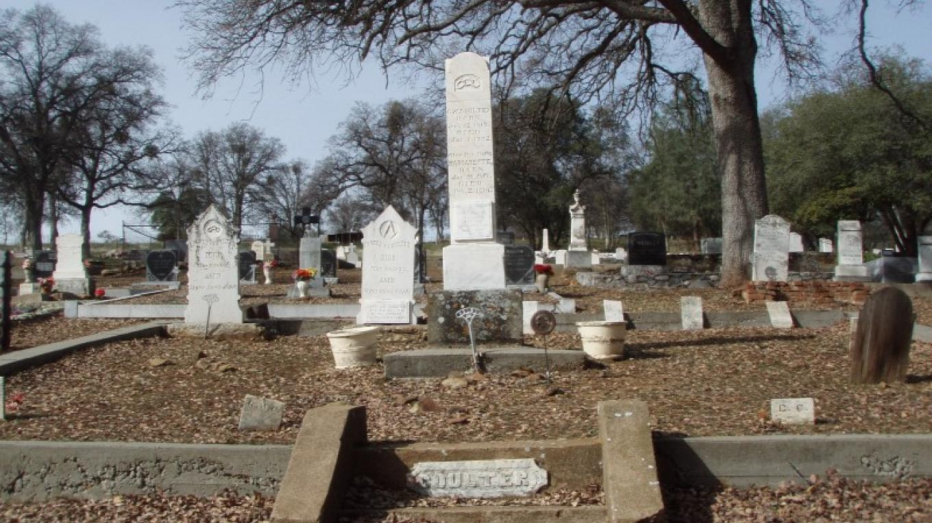 Coulter Family plot