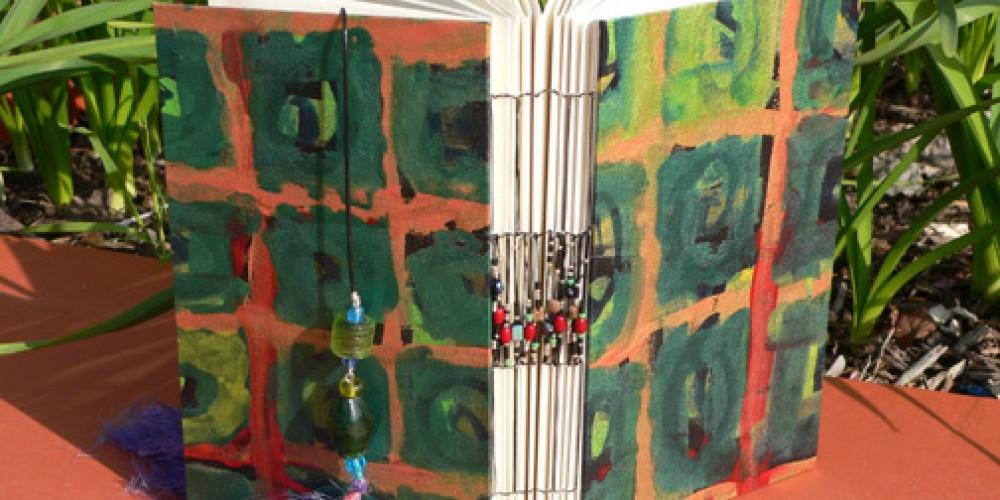Handmade book by Kim Elia. – Nadi Spencer